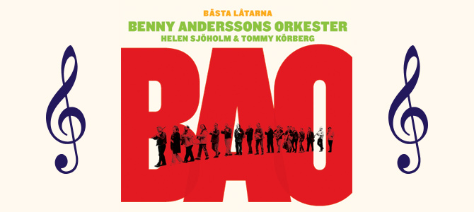 "CD release: ""Bästa låtarna"" (Best songs) with Benny Andersson's Orchestra"