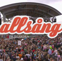 Allsång (Sing-along) at Skansen 200811