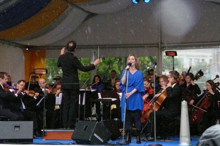 Nationaldagsfirande i Sundsvall 6 juni 2015