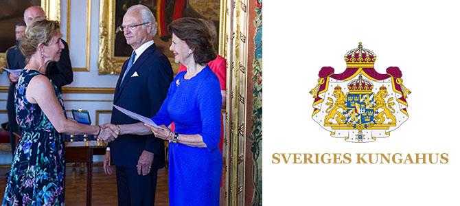 Helen tilldelades kunglig medalj