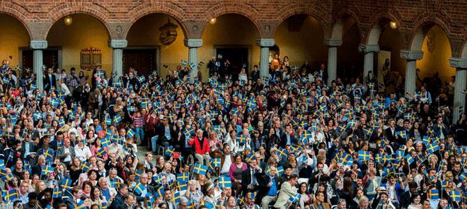 Stockholm välkomnade nya medborgare