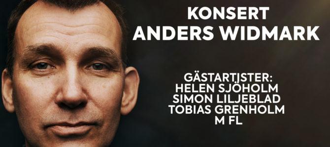 Konsert med Anders Widmark