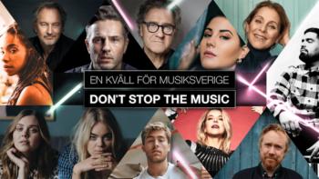Permalänk till: Don't stop the music