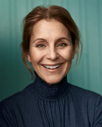 Helen Sjöholm. Porträttbild.