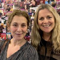 Helen och Gunilla Backman i Jukeboxen i P4